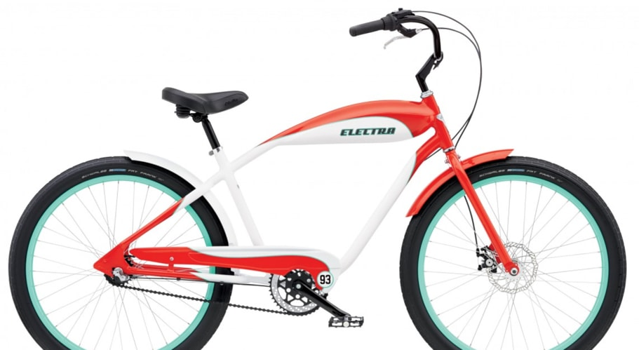 Red Electra Bicycle Bike